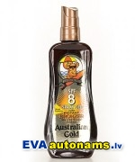 AG SPF 8  Spray gel bronzers- aizsardzībai saulē
